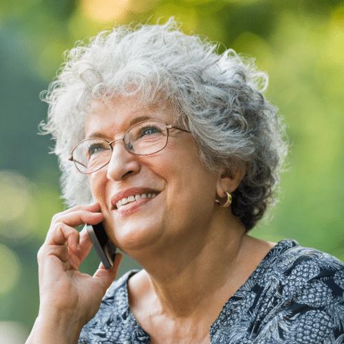 Mrs. H Prostate cancer testimonial headshot