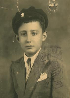 Mirko as a young boy in Yugoslavia
