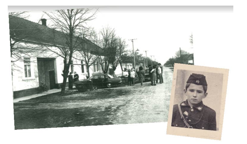 The birth of Mirko Beljanski in Turija, Yugoslavia