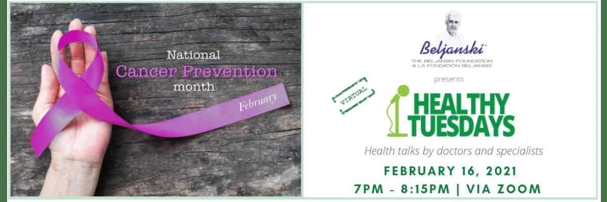 Feb Healthy Tuesdays Banner