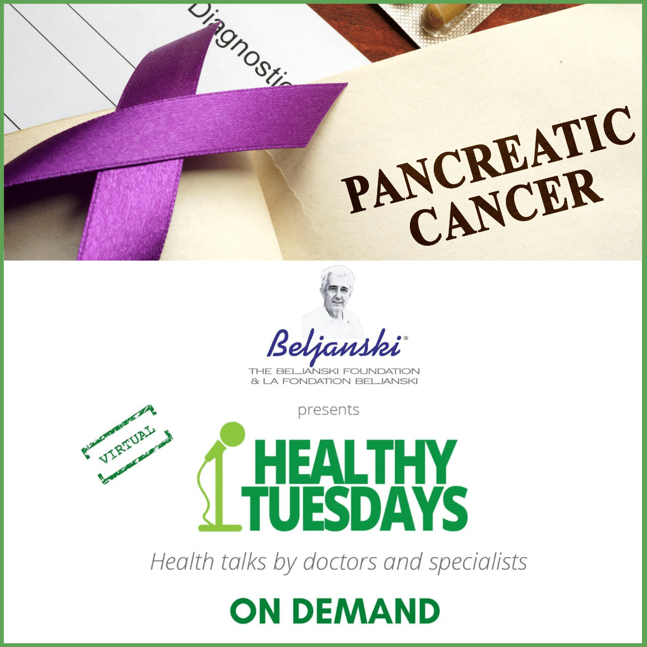 pancreatic cancer on demand event
