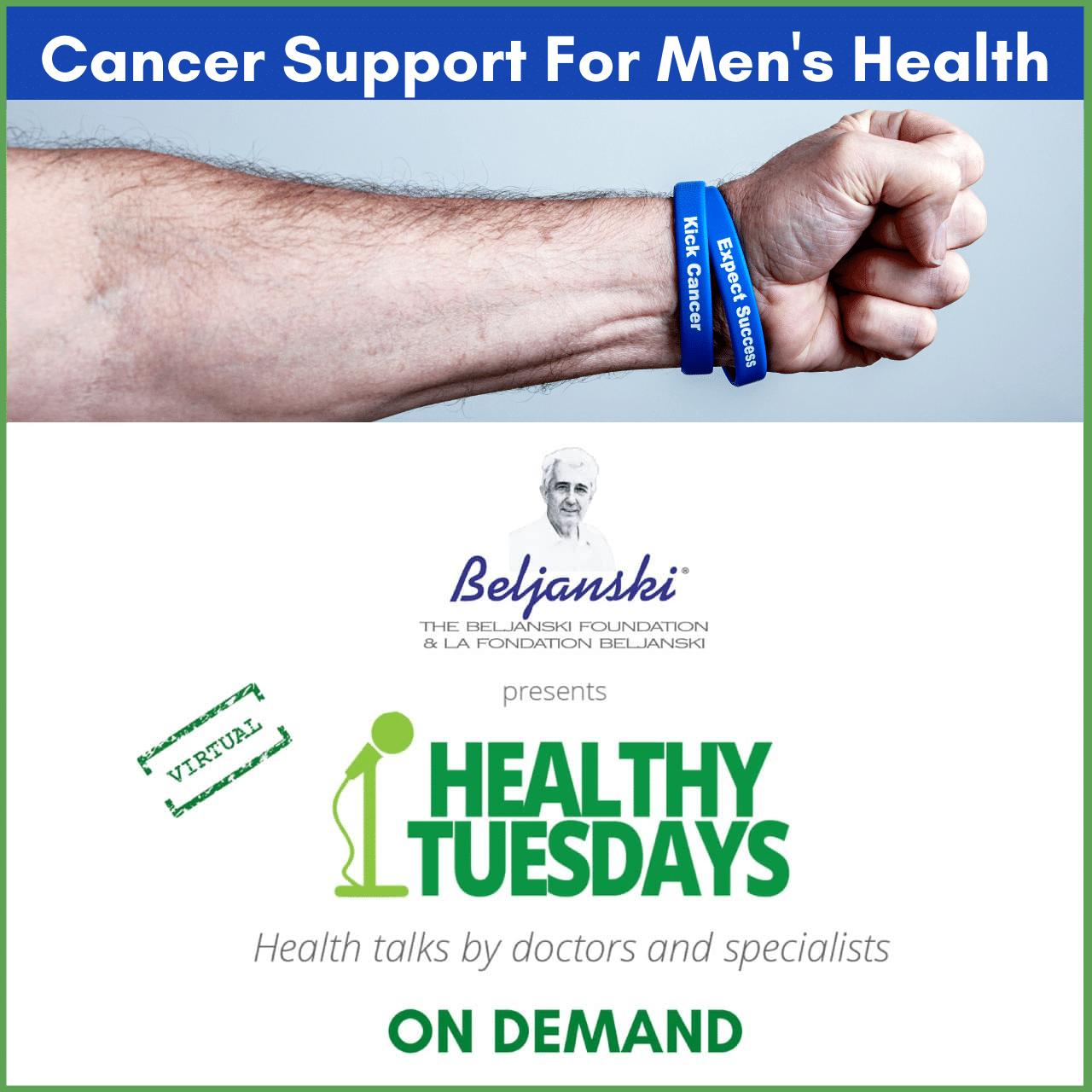 cancer support for men's health